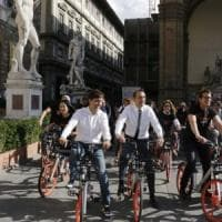 Firenze, Nardella e il bike sharing: