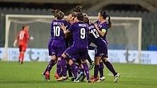 Fiorentina Women's  in coppa il Wolfsburg