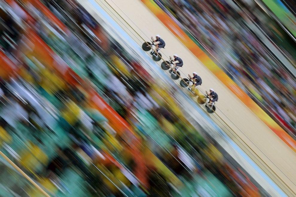 Siena, le foto sportive più belle del 2017: vince il ciclismo ad alta velocità