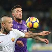 Fiorentina-Roma 2-4: Viola belli ma solo a metà