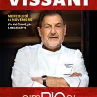 Firenze, da Simbiosi la cena con Gianfranco Vissani