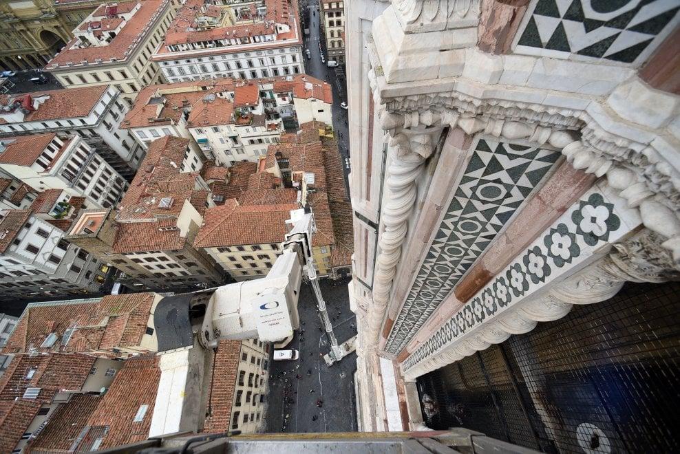Se la Grande Bellezza adesso fa paura: caccia ai cedimenti nel ventre della Cupola del Duomo di Firenze