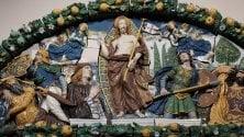 Firenze, al museo del Bargello la lunetta di Della Robbia