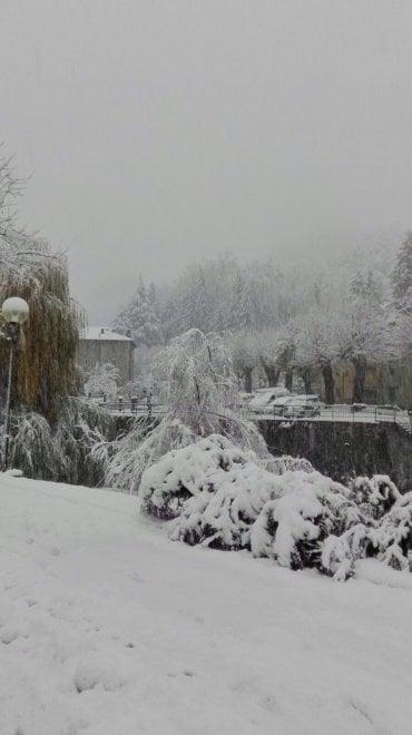 Nevicata record a Palazzuolo sul Senio (Firenze)
