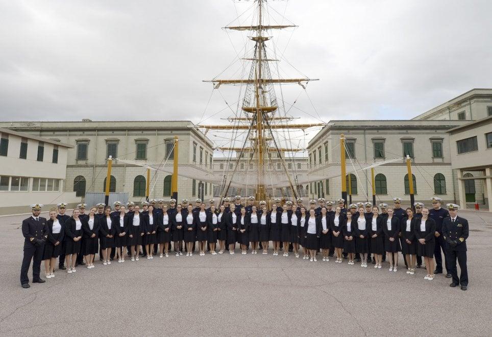 Il Gran Ballo della Venaria Reale, le prove all'Accademia navale di Livorno