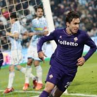Chiesa salva la Fiorentina, con la Spal finisce 1-1
