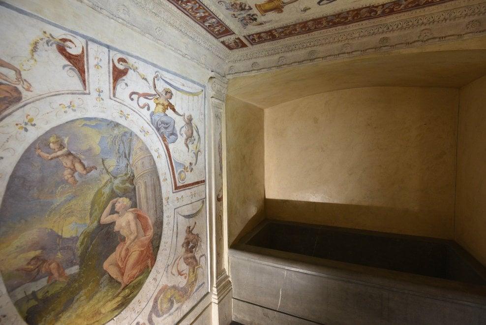 """A Firenze """"la spa"""" dei Medici, restaurata la sala sauna di Cosimo I"""