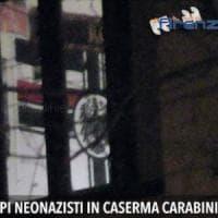 Firenze, bandiera neonazista dentro la caserma dei carabinieri. Pinotti: