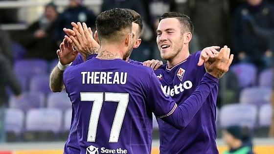 Fiorentina, tre gol per ripartire. Simeone & Co. stendono il Sassuolo