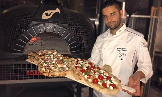 """La pizza gourmet de """"Il vecchio e il mare"""": digeribile al 100%"""