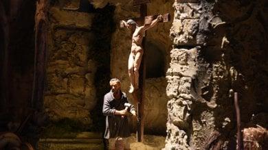 Il grande presepe lucano con Michelangelo