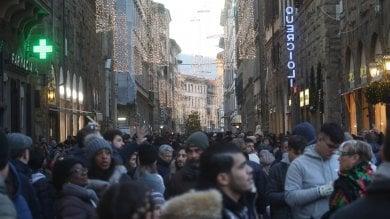 Firenze, assalto al centro fra turisti e shopping natalizio -  foto