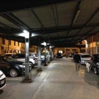 Firenze, nuove luci led fuori dal mercato di Sant'Ambrogio