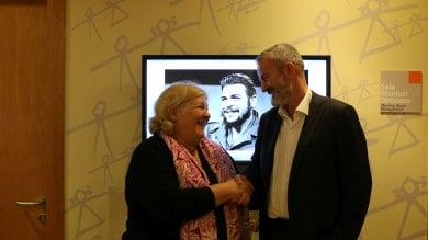 La figlia di Che Guevara in visita al Meyer