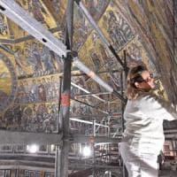 Non accadeva da secoli: a Firenze il restauro interno del Battistero