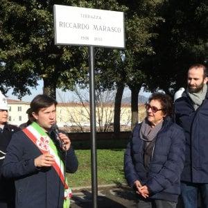 Firenze La Terrazza Sull Arno Dedicata A Riccardo Marasco