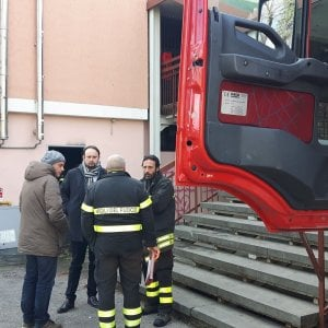 Fiamme dalla caldaia, asilo evacuato a Borgo San Lorenzo