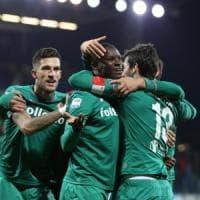Fiorentina, la zampata di Babacar regala i 3 punti a Cagliari