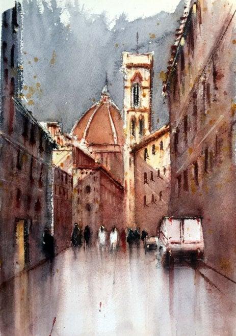 Artelandia,  la Toscana dipinta con gli acquerelli