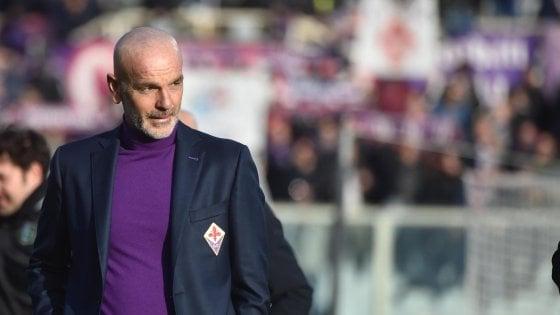 """Pioli: """"La Fiorentina sta bene, ma la Lazio è pericolosa..."""""""
