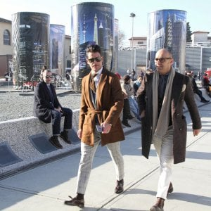 Pitti Uomo 93:  Lights, Camera, Action!