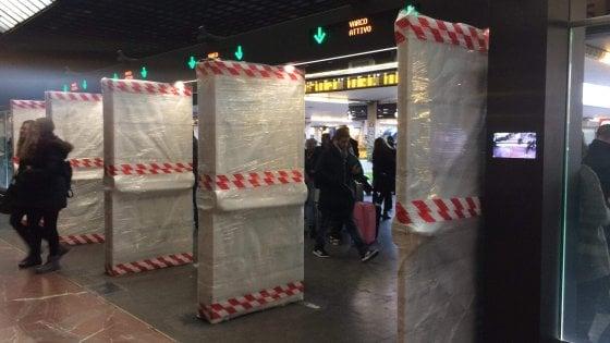 """Firenze, la """"scorciatoia"""" dalla Fortezza in stazione non sarà chiusa dai gate: ci sarà un corridoio per chi non ha il biglietto"""