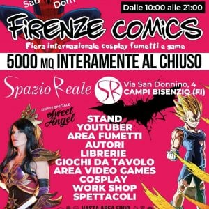 Al via il Firenze Comics, la fiera del fumetto