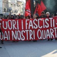 Firenze, corteo antifascista in Oltrarno