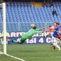Fiorentina mai in partita, a Marassi show di Quagliarella: 3-1
