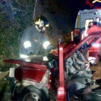 Arezzo, auto fuori strada: muore una donna