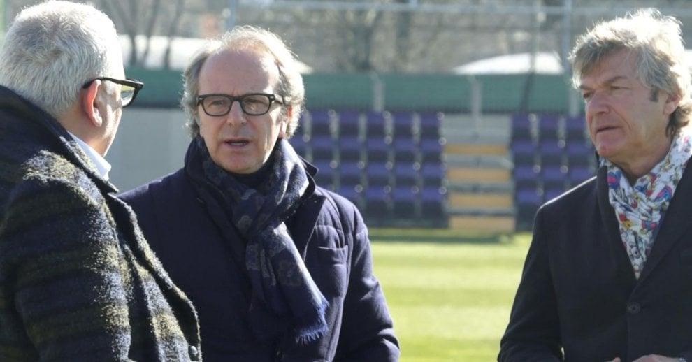 Fiorentina, Andrea Della Valle a pranzo con la squadra prima del match contro la Juve