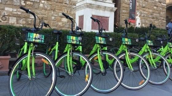 Gobee bike lascia Firenze e l'Italia,