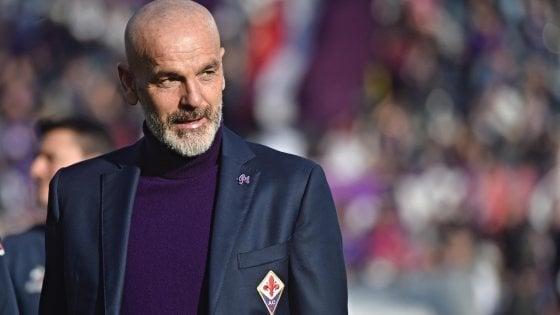 """Fiorentina, il tecnico Pioli: """"Questa classifica non ci piace. Gettiamo le basi per un futuro migliore"""""""