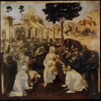 Leonardo, scoperti a Londra schizzi segreti dell'Adorazione dei Magi