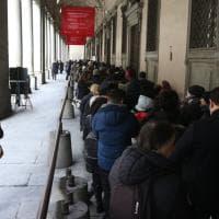 Firenze, lunga coda agli Uffizi per le nuove sale di Caravaggio