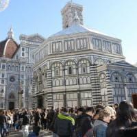 Sicurezza, metal detector attivi al Duomo di Firenze
