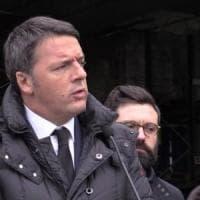 """Renzi all'Obihall per la campagna elettorale: """"Ciascuno porti uno o due indecisi"""""""