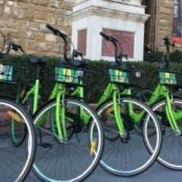 Firenze, dopo la ritirata Gobee regala le biciclette alla coop Ulisse