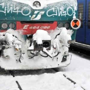 Maltempo: Trenitalia rimborsa biglietti regionali non usati per la neve
