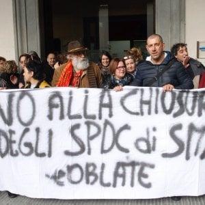 Firenze, causa lavori si trasferisce la psichiatria di Santa Maria Nuova. Proteste dei Cobas