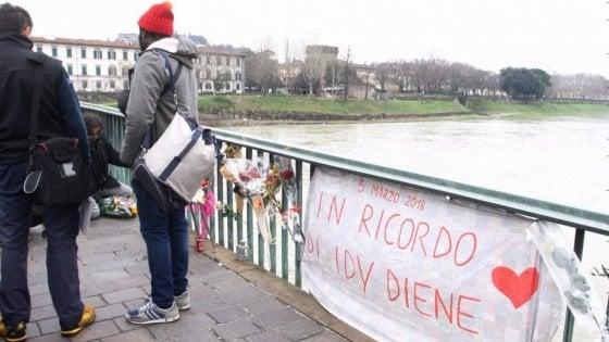 Omicidio Diene, domani lutto cittadino a Firenze per Idy
