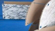 Il marmo e le sue copie:    a Carrara le opere    dei Parasite 2.0  foto