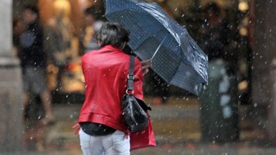 Maltempo in Toscana, giovedì allerta per la pioggia