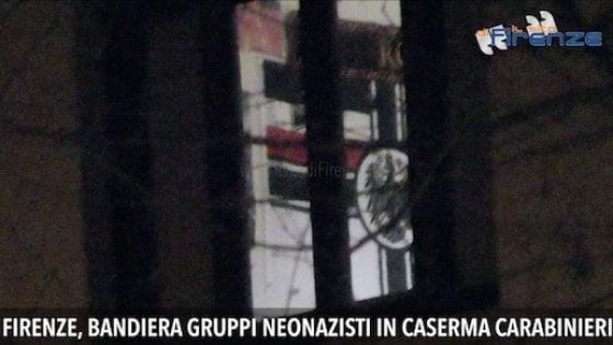 Firenze, bandiera neonazista in caserma: tre giorni di consegna al carabiniere