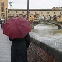 Maltempo, ancora piogge sulla Toscana:  prolungato il codice giallo