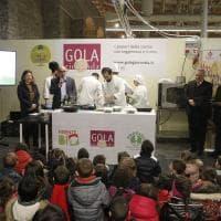 Minestrone e polpette da chef: Vito Mollica cucina per i bimbi a Firenze Bio