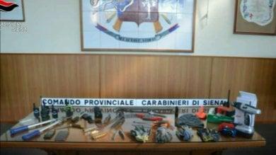 Toscana, 66 furti in 5 mesi: presa  banda di ladri d'appartamento