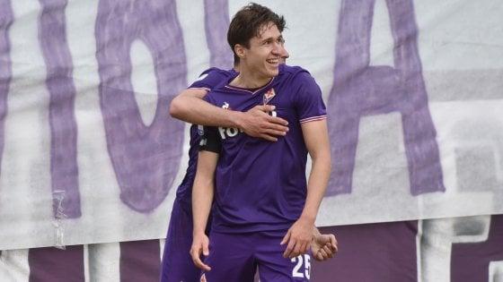 Fiorentina, due gol per salire ancora