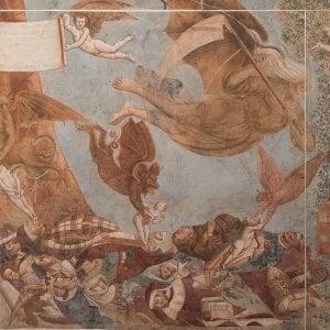 Pisa, fine del restauro per il Trionfo della morte: le immagini in anteprima
