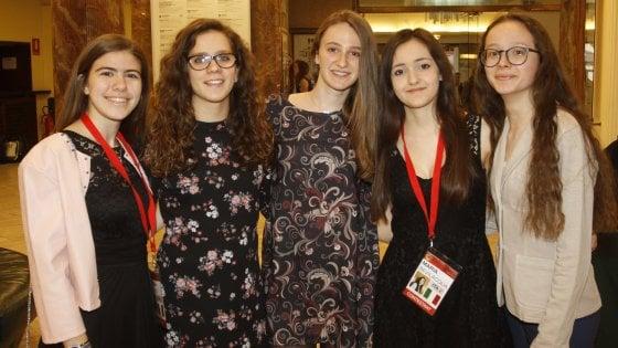 Firenze, l'Italia conquista il podio alle Olimpiadi femminili della matematica